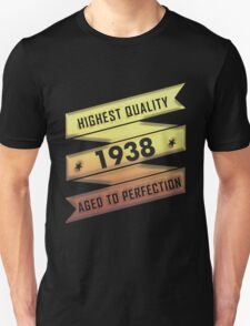 Highest Quality 1938 Aged To Perfection T-Shirt