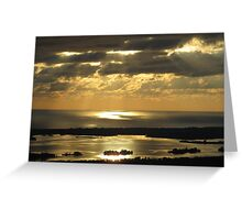 Sunrise Spotlight Greeting Card