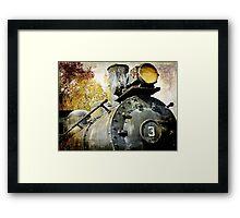 """Three Spot"" Locomotive Framed Print"