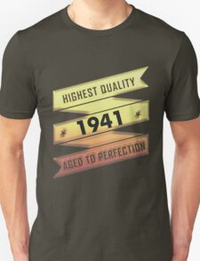 Highest Quality 1941 Aged To Perfection T-Shirt