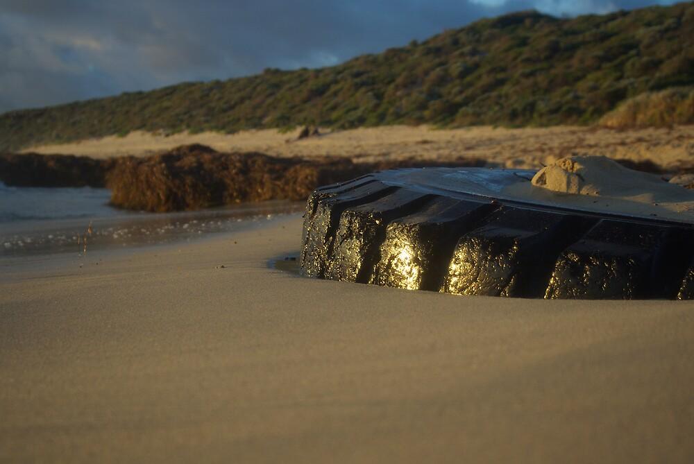 tyred beachlife by dodgsun