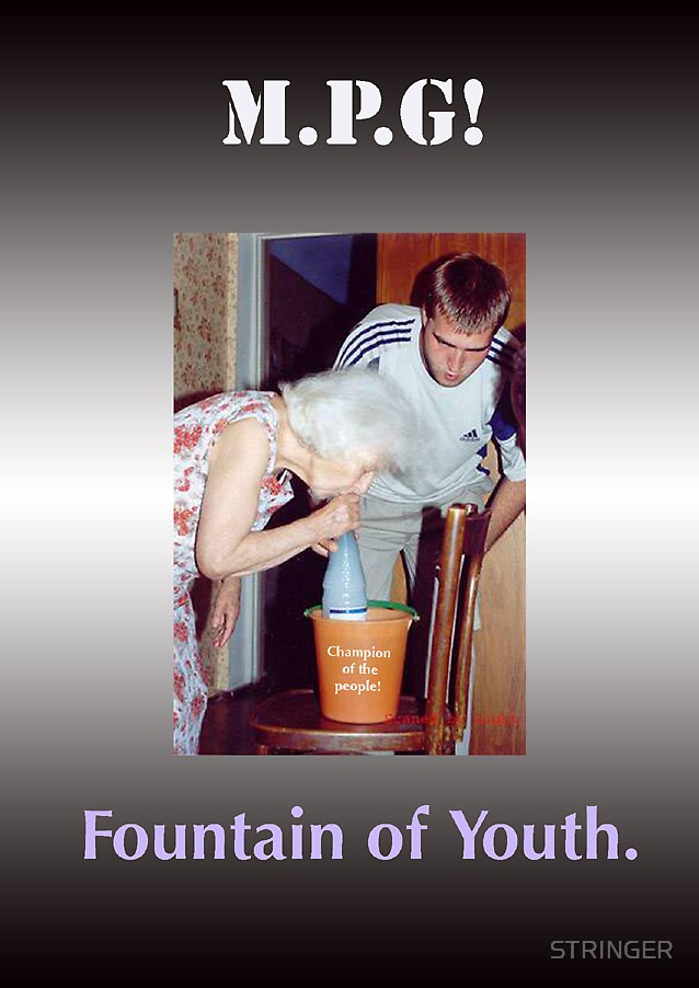 FOUNTAIN OF YOUTH! by STRINGER