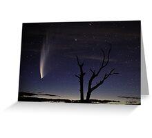 Comet McNaught Greeting Card