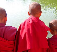 young monks by deborah parker