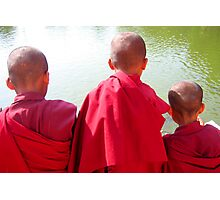 young monks Photographic Print