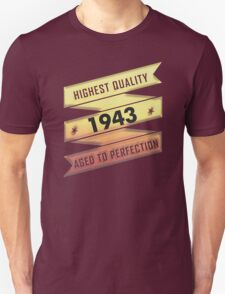 Highest Quality 1942 Aged To Perfection T-Shirt