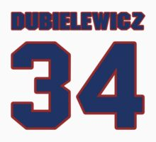 National Hockey player Wade Dubielewicz jersey 34 by imsport