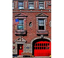 Engine 50 - Boston Photographic Print