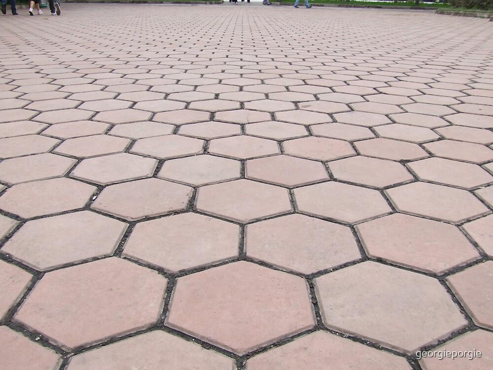 Pattern of Tiles by georgieporgie