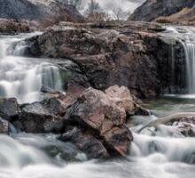 clachaig waterfall,glencoe Sticker