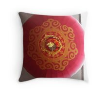 Chinese Lantern Throw Pillow
