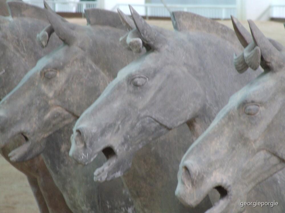 Terracotta Horses by georgieporgie