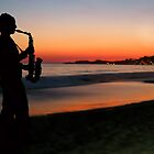 Jazz by the Sunset by MaluC