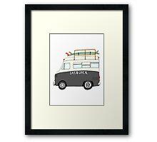 Ambulance - Kevin Butler® Framed Print