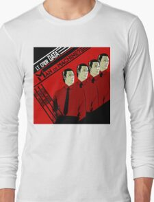 Man Or Machine Long Sleeve T-Shirt