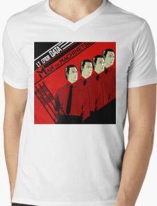 Man Or Machine Mens V-Neck T-Shirt