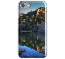Dawn on Prescott Lake iPhone Case/Skin