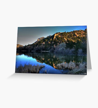Dawn on Prescott Lake Greeting Card
