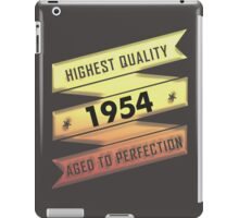 Highest Quality 1954 Aged To Perfection iPad Case/Skin