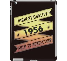 Highest Quality 1956 Aged To Perfection iPad Case/Skin