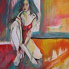 RED  by GittiArt