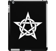Pentangle - Pentagram - Plain iPad Case/Skin