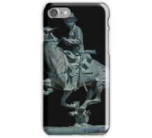 Trooper of the Plains by Fredric Remington iPhone Case/Skin
