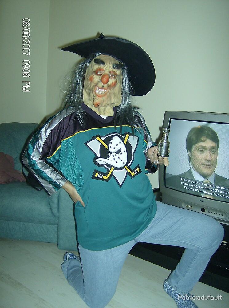 Go Anaheim Ducks Go by Patriciadufault