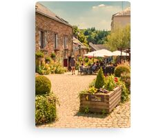 La Gacilly, Brittany, France Canvas Print