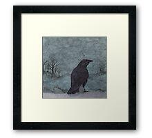 nightbird Framed Print