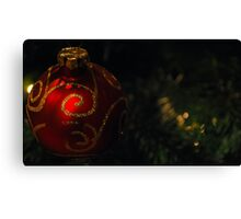 Bauble Canvas Print
