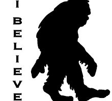 Bigfoot I Believe 3 by saltypro