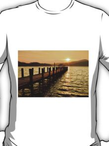 Sunset Jetty Coniston T-Shirt