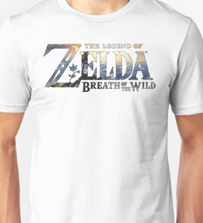 Zelda Breath of the Wild Nintendo Switch Unisex T-Shirt