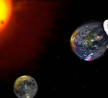 The Big Bubble Theory - The Creation of Earth by Roddy Atkinson