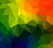Triangle Abstract 6 by Inimma