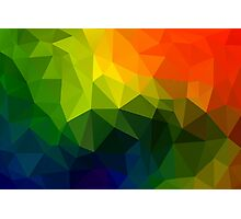 Triangle Abstract 6 Photographic Print