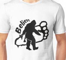 Bigfoot Believe 2 Unisex T-Shirt