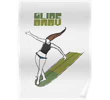 Glide Baby - Poster Poster
