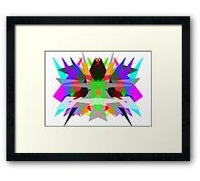 Colour Matrix Framed Print