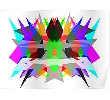 Colour Matrix Poster