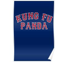 Kung Fu Panda is on the Red Sox! - Pablo Sandoval Poster