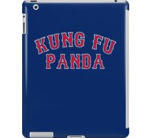 Kung Fu Panda is on the Red Sox! - Pablo Sandoval iPad Case/Skin