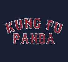 Kung Fu Panda is on the Red Sox! - Pablo Sandoval by shirtsforshirts