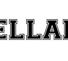 The Hunger Games Baseball Tee - Peeta Mellark by acciostarkids