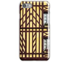 Windows and half-timbering iPhone Case/Skin