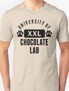 University Of Chocolate Lab T-Shirt
