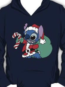 Cute Stitch with christmas gifts T-Shirt