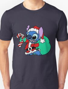 Cute Stitch with christmas gifts Unisex T-Shirt