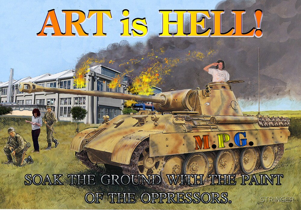 ART IS HELL by STRINGER